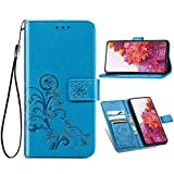 IMOK Coque Huawei P Smart 2020,Motif Papillon Design PU Housse en Cuir Premium Flip Case...