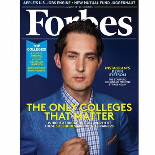 Forbes, August 6, 2012 audiobook cover art