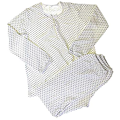 Petit Bateau Mädchen Pyjama 30766, Mehrfarbig (SHORE/ECUME 28 ), 110 (5 Jahre, FR 108cm)