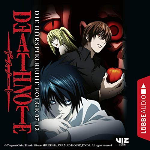 Death Note 7-12. Die Hörspielreihe  By  cover art