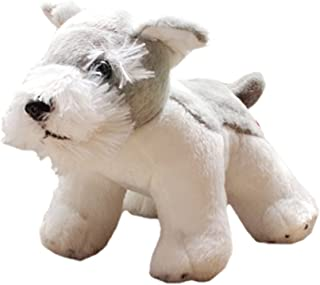 Lovely Dog Dolls Simulation Gift Schnauzer Standing Posture