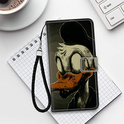 DISNEY COLLECTION iPhone 6S Wallet Case iPhone 6 Case (4.7inch) Creepy Creepypasta Duck Donald Abandoned by Disney Zombie Spooky Good-Looking