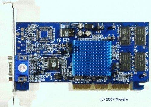 AGP-Grafikkarte Hercules 3D Prophet II MX ID2189