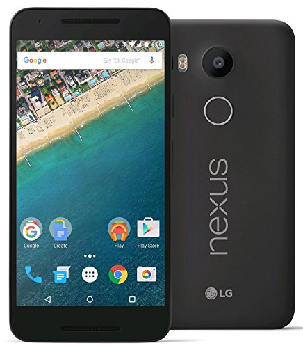 LG Nexus 5X H790 32GB Unlocked 4G LTE Smartphone for all GSM + CDMA Carriers (AT&T, T-Mobile, Verizon, Sprint) w/12MP Camera - Carbon Gray (Renewed)