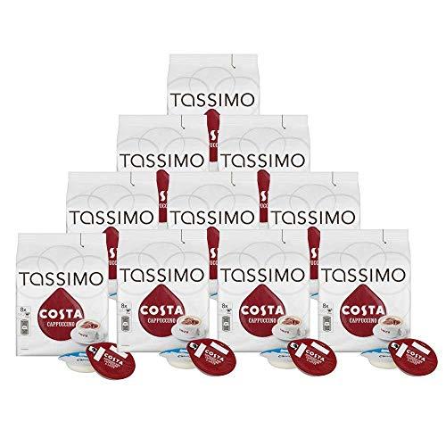 Costa Tassimo Cappuccino Coffee Pods, 80 Servings