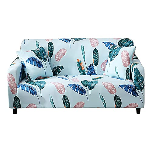 ASCV Fundas elásticas Funda de sofá elástica seccional para Sala de Estar Funda de sofá en Forma de L Funda de sillón A2 1 Plaza