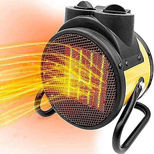 El nuevo Ventilador de calefacción portátil, calentar en 3 segundos Ventilador pequeño duradero, lámpara de calentador de acero inoxidable, configuración de calentamiento ajustable, adecuado para exte