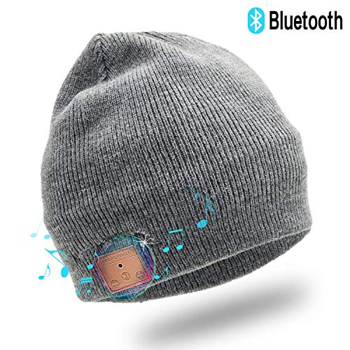 Enjoybot Bluetooth Beanie Wireless Knit Winter Hats Cap with Built-in Stereo Speakers and Microphone - http://coolthings.us