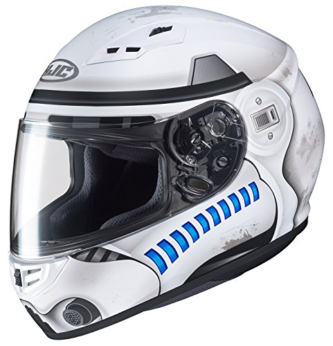 HJC Star Wars Unisex-Adult CS-R3 Storm Trooper Motorcycle Full Face Helmet