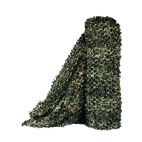 Sitong - Rollo grueso de red de camuflaje. Para caza, decoración militar, para dar sombra, 1.5Mx3M(4.9ftx9.8ft), Árbol Camo Bionic 2