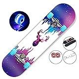 hdfj12142 31 inch skateboards adult girl longboard skateboard LED Light up skateboard wheels