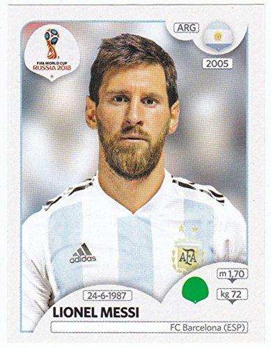 Panini WM 2018 Russia – Sticker #288 – Lionel Messi (Argentinien)
