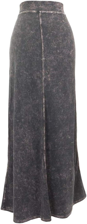 Hard Tail Flat Waist Sweep Skirt