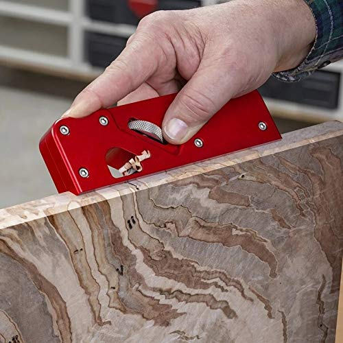 Block Planer, Metal 45 Degree Manual Wood Planer Plane Woodworking Planer Chamfering Trimming Planer DIY Hand Tool Woodcraft Corners Edge Carpenter Smoothing Planer Suitable for Woodworking Worker
