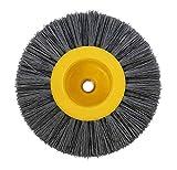 DaFFeng 150X40Mm M14 Spazzola In Nylon Per Trafilatura A Spazzola 80/120/180/320 Ruota Per...