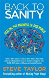 Image of Back To Sanity: Healing the Madness of Our Minds