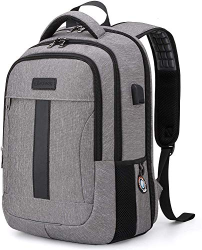 17Inch Laptop Backpack TSA Backpack with USB Charge Port Water Resistant Bookbag