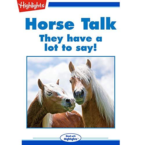 Horse Talk copertina