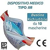 Immagine 2 100 mascherine chirurgiche dispositivo medico