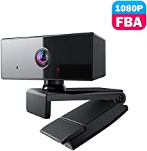 Webcam 1080P Fulfilled by Amazon, usogood USB PC Streaming Webcam with Microphone Web Camera Widescreen Computer Webcam Camera for Desktop Laptop PC Mac Video Calling Conferencing Recording
