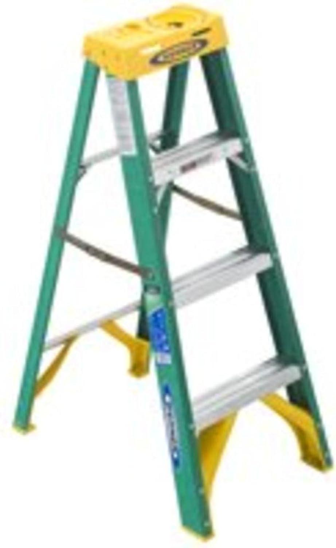 Werner 4-Foot Fiberglass Step Ladder II