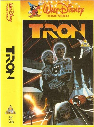TRON - Walt Disney Home Video (VHS TAPE)