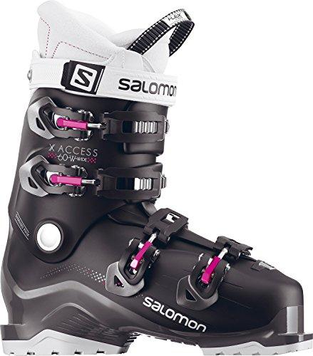 Salomon X Access 60 Wide Ski Boots Womens Sz 8.5 (25.5)