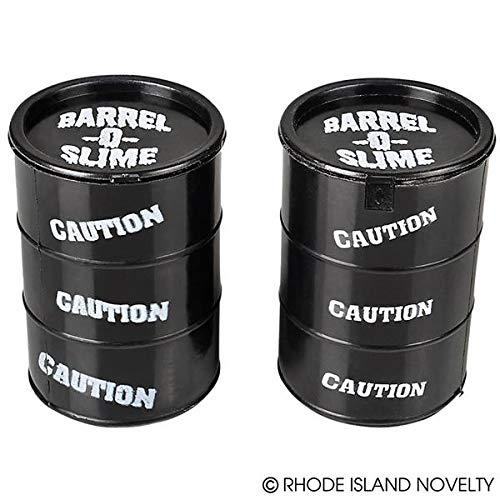Rhode Island Novelty 3.25 Inch Barrel of Slime, One per Order