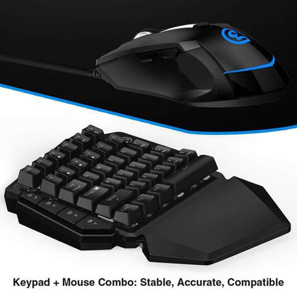 HKJCC Teclado y Mouse para Juegos para Xbox One PS4 PS3 Nintendo Switch PC GameSir VX AimSwitch Esports Teclado y Mouse: Amazon.es: Hogar