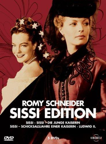 Romy Schneider: Sissi Edition ( Sissi / Sissi-Die junge Kaiserin / Schicksalsjahre einer Kaiserin / Ludwig II ) [5 DVDs]