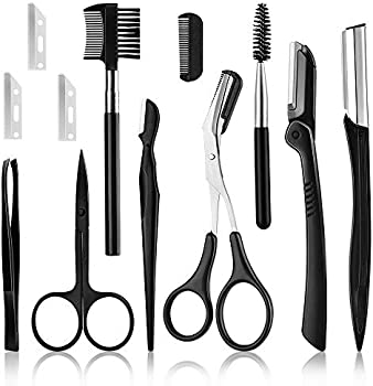 MS.DEAR Eyebrow Razor, Eyebrow Kit, Multipurpose Tool Face Razors