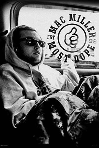 Pyramid America Mac Miller Most Dope Music Album Photo Cool Wall Decor Art Print Poster 24x36