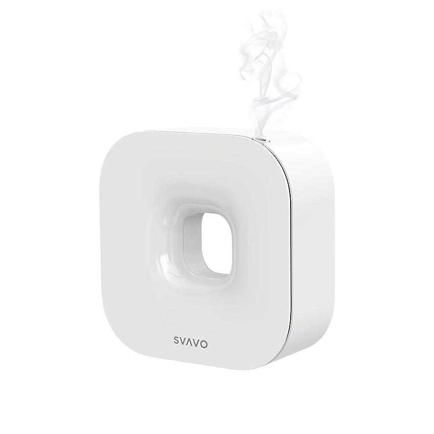 SVAVO エッセンシャルオイル用アロマセラピーディフューザー、LCDスクリーン設定付き100ml自動アロマオイルディフューザー、商業オフィス用の加熱式芳香機なしホームベッドルームリビングルームスタディヨガスパ