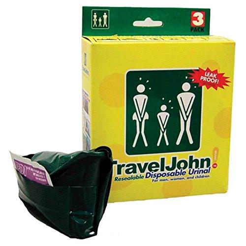 Travel John Wegwerf Resealable Urinale