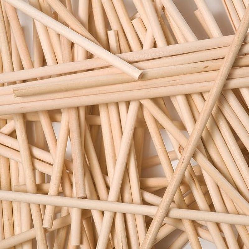 X100 150mm X 4 5mm Round Wooden Lollipop Cakepop Sticks Lollies By Loypack