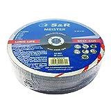 S&R Disco 230 Mola da Taglio per Metallo Ferro Acciaio - Set 25 dischi 230 x 2,0 x 22,23 m...