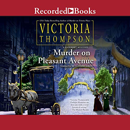 Murder on Pleasant Avenue audiobook cover art