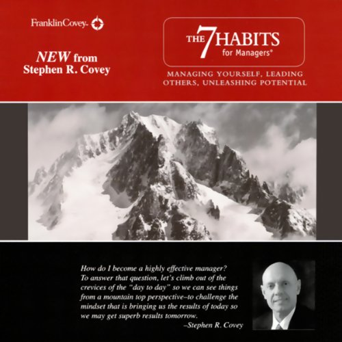 The 7 Habits for Managers audiobook cover art