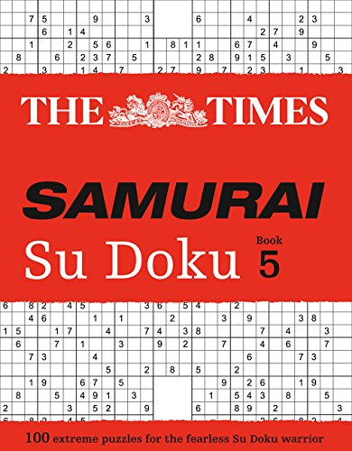 The Times Mind Games: The Times Samurai Su Doku 5