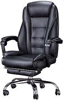 Chaise de jeu MHIBAX chaise d'ordinateur, chaise de bureau à domicile chaise pivotante, chaise inclinable dossier chais...