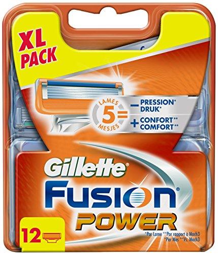 gillette fusion scheermesjes 12 stuks kruidvat