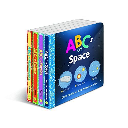 Baby University ABC's Board Book Set: A Scientific Alphabet Board Book Set for Toddlers 1-3 (Science Gifts for Kids) (Baby University Board Book Sets)