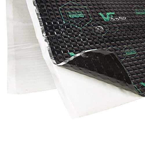 tomzz Audio VDM16-2 Alubutyl Schalldämmung Schalldämmmatten Set für 2 Türen Anti Dröhn Vibration Dämmmatte Auto Boot selbstklebend (19,93 Euro/qm)