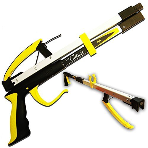 Helping Hand Company Classic Pro Folding Reacher Grabber 21 inch / 53cm. Long Handled Grabber Stick for Elderly, Disabled, or Anyone Struggling to Bend and Reach. Eligible for VAT Relief in UK.