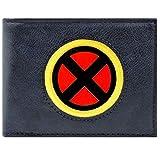 Cartera de Marvel X-Men Adaptarse Escudo de Plata Azul