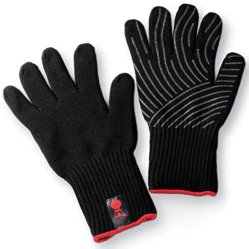 Weber 6670 Premium Handschuhe, Größe L/XL, Grillhandschuhe, bis 260°C