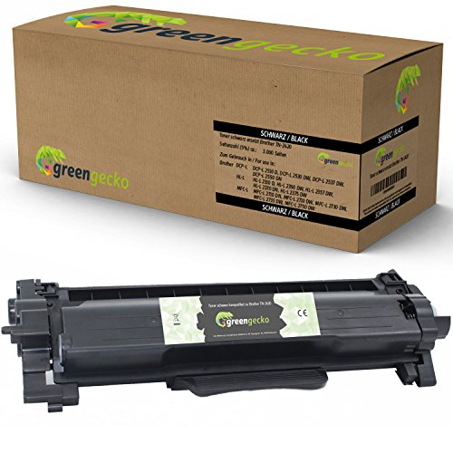 green gecko toner vervangen Brother TN-2420 1 x Toner schwarz zwart