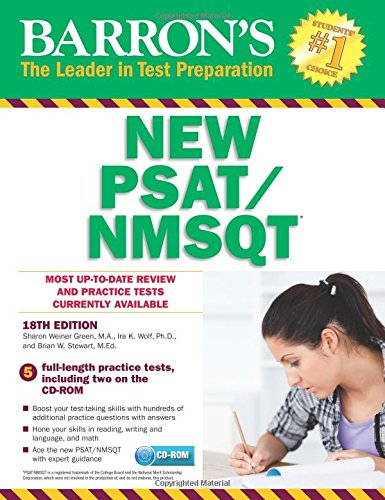 Barron's NEW PSAT/NMSQT with CD-ROM, 18th Edition (Barron's PSAT/NMSQT)