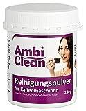 AmbiClean Reinigungspulver für Kaffeemaschinen, Kaffeevollautomaten und Espresso-Maschinen,...