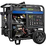 Westinghouse Outdoor Power Equipment WGen12000DF Ultra Duty Portable Generator - 12000 Rated Watts &...